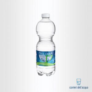 Acqua Leggermente Frizzante Dolomia 0,5 Litri Bottiglia di Plastica PET Classic