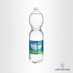 Acqua Leggermente Frizzante Dolomia 1,5 Litri Bottiglia di Plastica PET Classic
