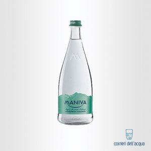 Acqua Leggermente Frizzante Maniva Chef 075 Litri Bottiglia di Vetro