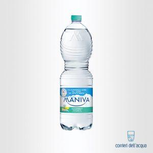 Acqua Leggermente Frizzante Maniva Classic 1,5 Litri Bottiglia di Plastica PET
