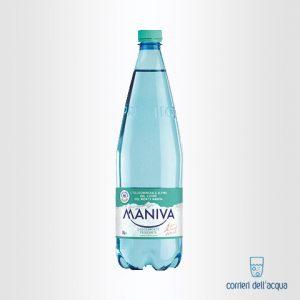 Acqua Leggermente Frizzante Maniva Prestige 1 Litro Bottiglia di Plastica PET