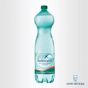 Acqua Leggermente Frizzante San Benedetto Benedicta 15 Litri Bottiglia di Plastica