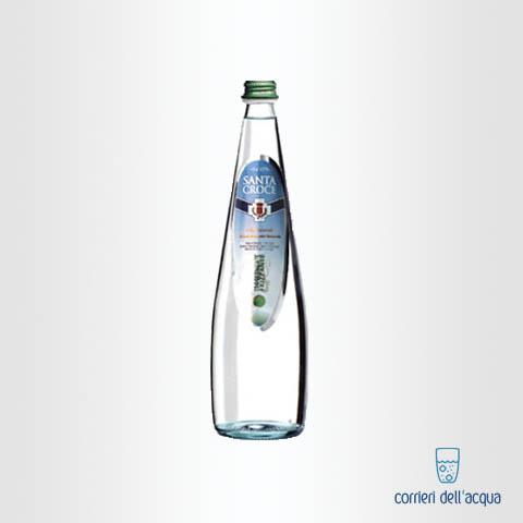 Acqua Leggermente Frizzante Santa Croce 075 Litri Bottiglia di Vetro