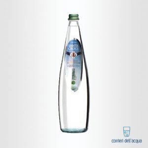 Acqua Leggermente Frizzante Santa Croce 1 Litro Bottiglia di Vetro