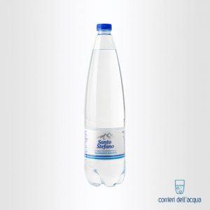 Acqua Leggermente Frizzante Santo Stefano 1 Litro Bottiglia di Plastica PET