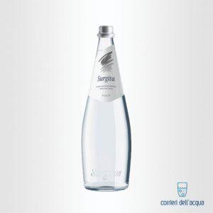 Acqua Leggermente Frizzante Surgiva 075 Litro Bottiglia di Vetro