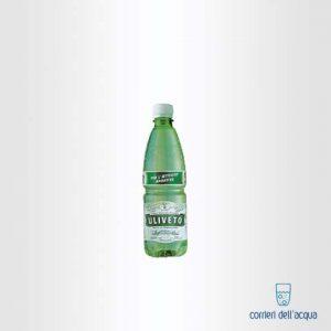 Acqua Leggermente Frizzante Uliveto 0,5 Litri Bottiglia di Plastica PET