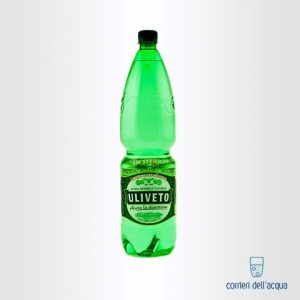 Acqua Leggermente Frizzante Uliveto 1,5 Litri Bottiglia di Plastica PET