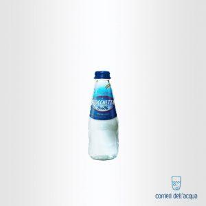 Acqua Lievemente Frizzante Brio Blu Rocchetta 0,25 Litri Bottiglia di Vetro