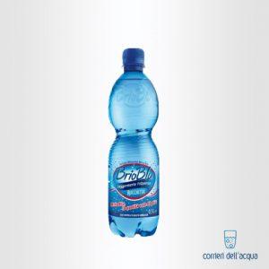 Acqua Lievemente Frizzante Brio Blu Rocchetta 0,5 Litri Bottiglia di Plastica