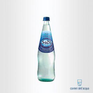 Acqua Lievemente Frizzante Brio Blu Rocchetta 0,75 Litri Bottiglia di Vetro