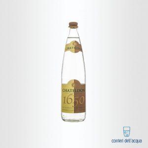 Acqua Lievemente Frizzante Chateldon 075 Litri Bottiglia di Vetro
