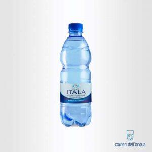 Acqua Lievemente Frizzante Fonte Itala 0,5 Litri Bottiglia di Plastica PET