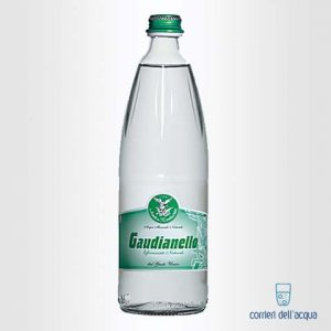 Acqua Lievemente Frizzante Gaudianello Monticchio 1 Litro Bottiglia di Vetro