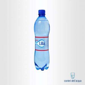 Acqua Lievemente Frizzante Lilia 0,5 Litri Bottiglia di Plastica