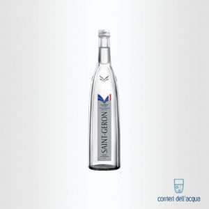 Acqua Lievemente Frizzante Saint Geron 075 Litri Bottiglia di Vetro