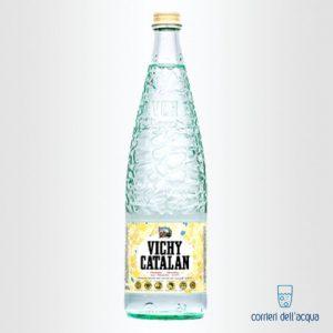 Acqua Lievemente Frizzante Vichy Catalan 1 Litro Bottiglia di Vetro