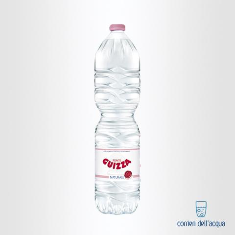 Acqua Naturale Alpe Guizza Fonte Caudana 1,5 Litri Bottiglia di Plastica