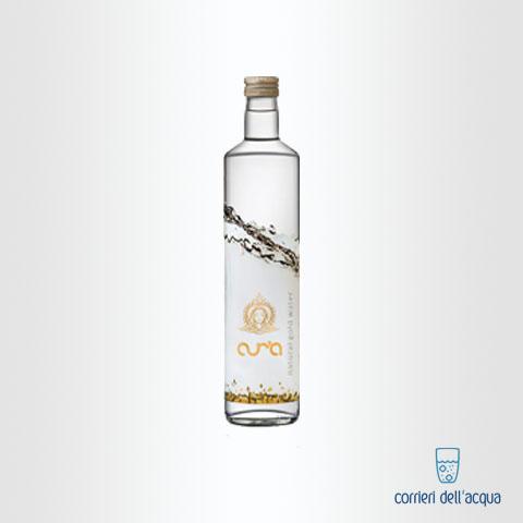 Acqua Naturale Aura 075 Litri Bottiglia di Vetro