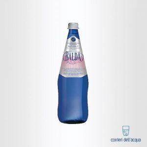 Acqua Naturale Balda 075 Litro Bottiglia di Vetro Blu