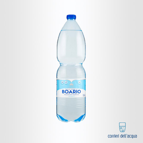 Acqua Naturale Boario 1,5 Litri Bottiglia di Plastica