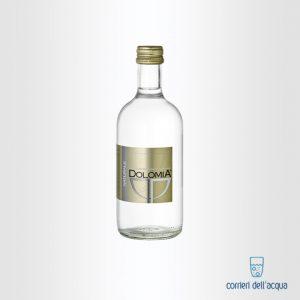 Acqua Naturale Dolomia 033 Litri Bottiglia di Vetro Exclusive