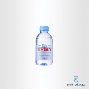 Acqua Naturale Evian 0,33 Litri Bottiglia di Plastica PET 1