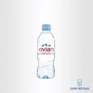Acqua Naturale Evian 0,50 Litri Bottiglia di Plastica PET