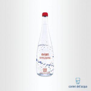 Acqua Naturale Evian Virgil Abloh 075 Litri Bottiglia di Vetro