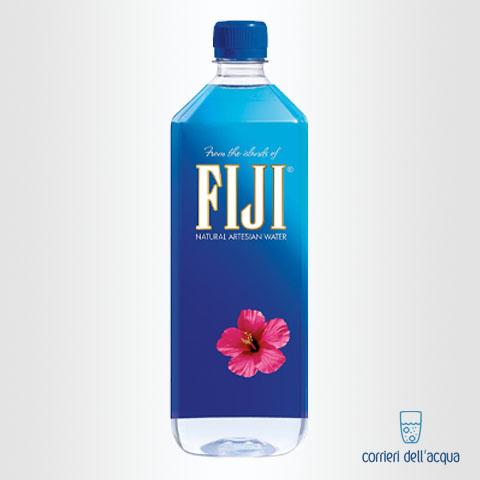 Acqua Naturale Fiji 1 Litro Bottiglia di Plastica