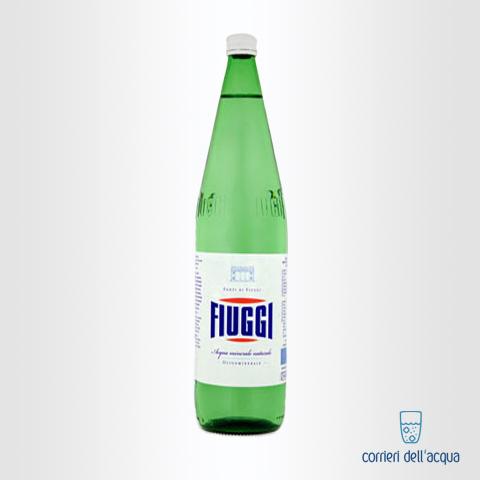 Acqua Naturale Fiuggi 1 Litri Bottiglia di Vetro