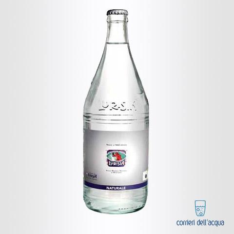 Acqua Naturale Lurisia Minatore Rosso 1 Litro Bottiglia di Vetro