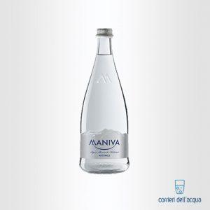 Acqua Naturale Maniva Chef 075 Litri Bottiglia di Vetro