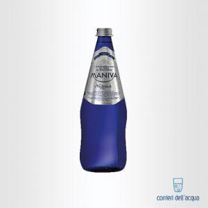 Acqua Naturale Maniva Chef Blu 075 Litri Bottiglia di Vetro