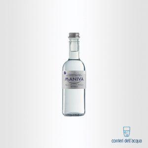 Acqua Naturale Maniva Classic 0,375 Litri Bottiglia di Vetro
