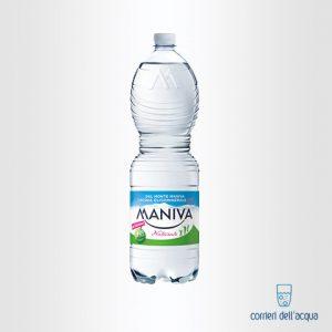 Acqua Naturale Maniva Classic 1,5 Litri Bottiglia di Plastica PET