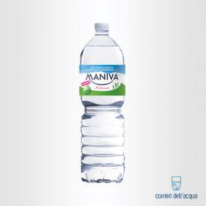 Acqua Naturale Maniva Classic 2 Litri Bottiglia di Plastica PET