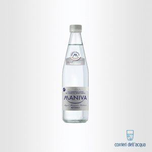 Acqua Naturale Maniva Prestige 0,5 Litri Bottiglia di Vetro