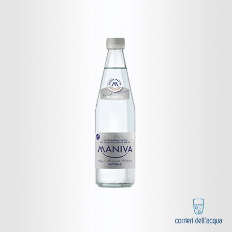 Acqua Naturale Maniva Prestige 05 Litri Bottiglia di Vetro