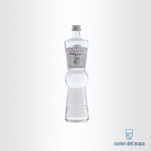 Acqua Naturale Maxims Fashion by Pierre Cardin 075 Litri Bottiglia di Vetro