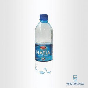 Acqua Naturale Natía 0,5 Litri Bottiglia in Plastica PET