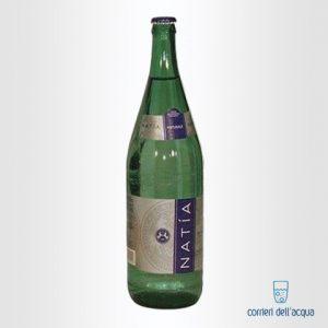 Acqua Naturale Natía 1 Litro Bottiglia in Vetro
