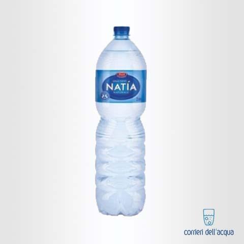 Acqua Naturale Natía 2 Litri Bottiglia di Plastica