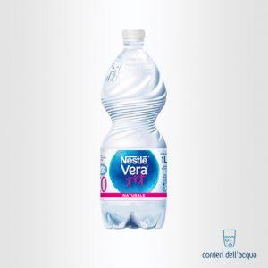 Acqua Naturale Nestlé Vera Fonte In BOSCO 1 Litro Bottiglia di Plastica PET