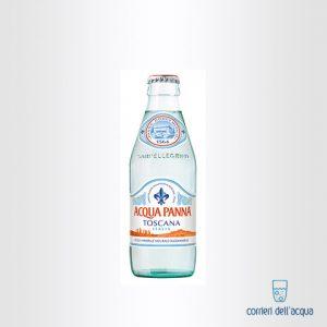 Acqua Naturale Panna 025 Litri Bottiglia di Vetro