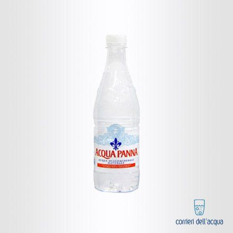 Acqua Naturale Panna 0,5 Litri Bottiglia di Plastica