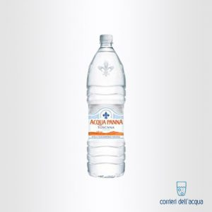 Acqua Naturale Panna 075 Litri Bottiglia di Plastica