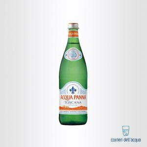 Acqua Naturale Panna 0,75 Litri Bottiglia di Vetro