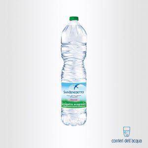 Acqua Naturale San Benedetto Ecogreen 15 Litri Bottiglia di Plastica