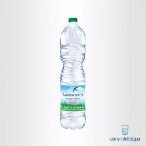 Acqua Naturale San Benedetto Ecogreen 2 Litri Bottiglia di Plastica
